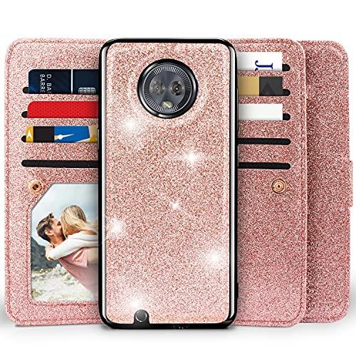 Moto G6 Wallet Case, Miss Arts Detachable Magnetic...