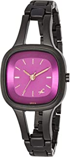 Fastrack Casual Watch for Women, Stainless Steel - 6147NM03