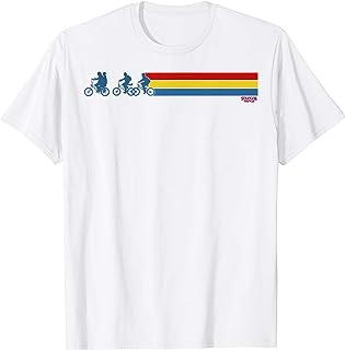 Netflix Stranger Things Retro Stripe Silhouettes T-Shirt