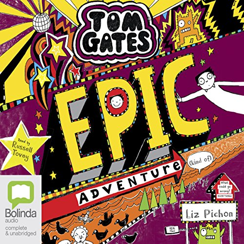 Epic Adventure (Kind Of) audiobook cover art