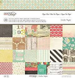 Crate Paper DIY Shop Paper