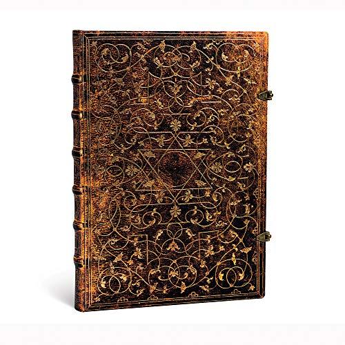 Grolier Ornamentali - Notizbuch Grande Flexi Unliniert - Paperblanks, PB1594-9