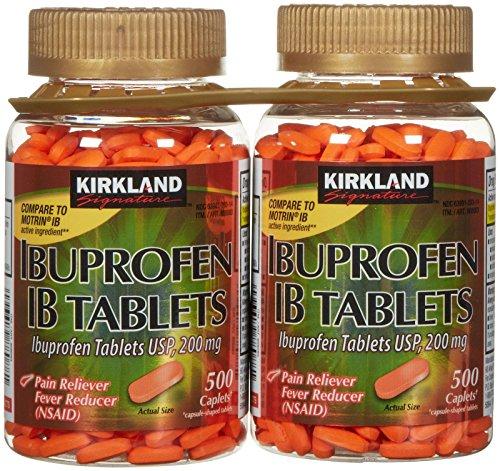 Kirkland Signature Ibuprofen ib 200 Mg Tablets 1000Count