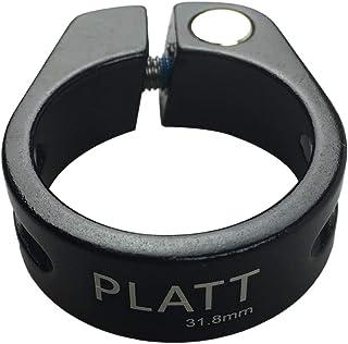 PLATT シートクランプ 軽量カーボンファイバー/アルミ合金自転車シートポストクランプ サイズ 28.6/31.8/34.9mmシートポストに適用