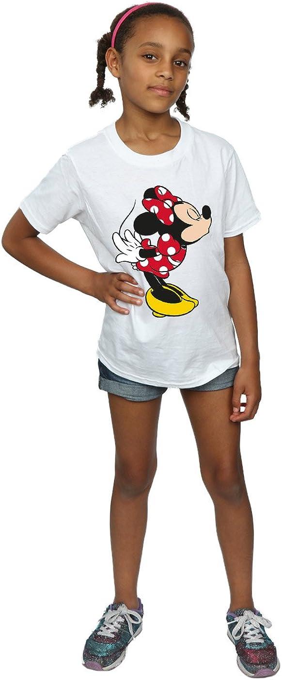 Disney Girls Minnie Mouse Split Kiss T-Shirt