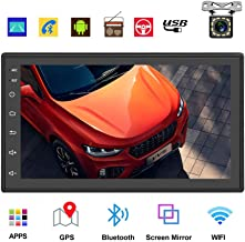 Podofo Double Din Car Radio GPS Navigation Android Car Stereo 7 Inch HD Touch Screen Car..