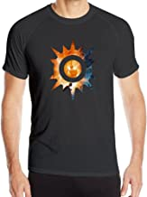 Boss-Seller Men's Breathable The Trials Of Apollo The Hidden Oracle Training Tee Black