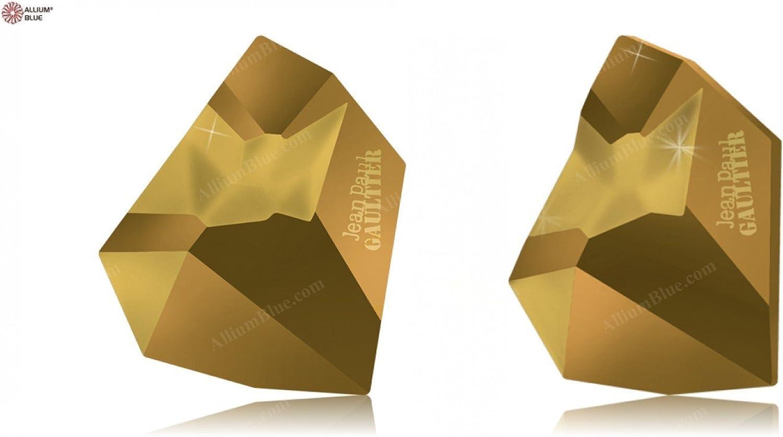 Swarovski Crystals 5206174 Fancy Stones 4922 MM 38,0X 33,0 CRYSTAL DORADO F T1159, 6 Pieces