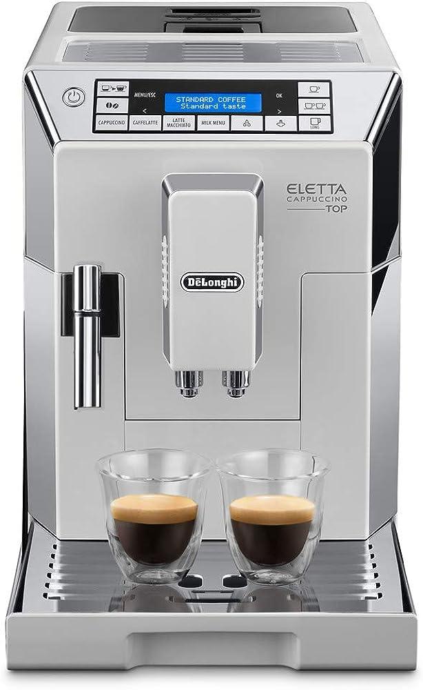 De`longhi,eletta cappuccino macchina da caffè automatica ECAM45.760.W