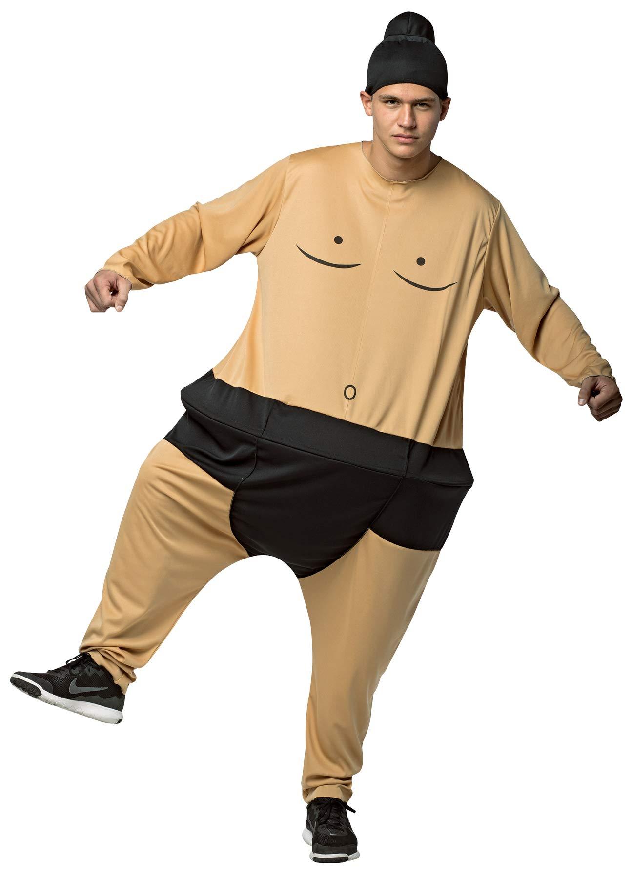Disfraz de luchador de sumo gordo para adulto: Amazon.es: Juguetes ...