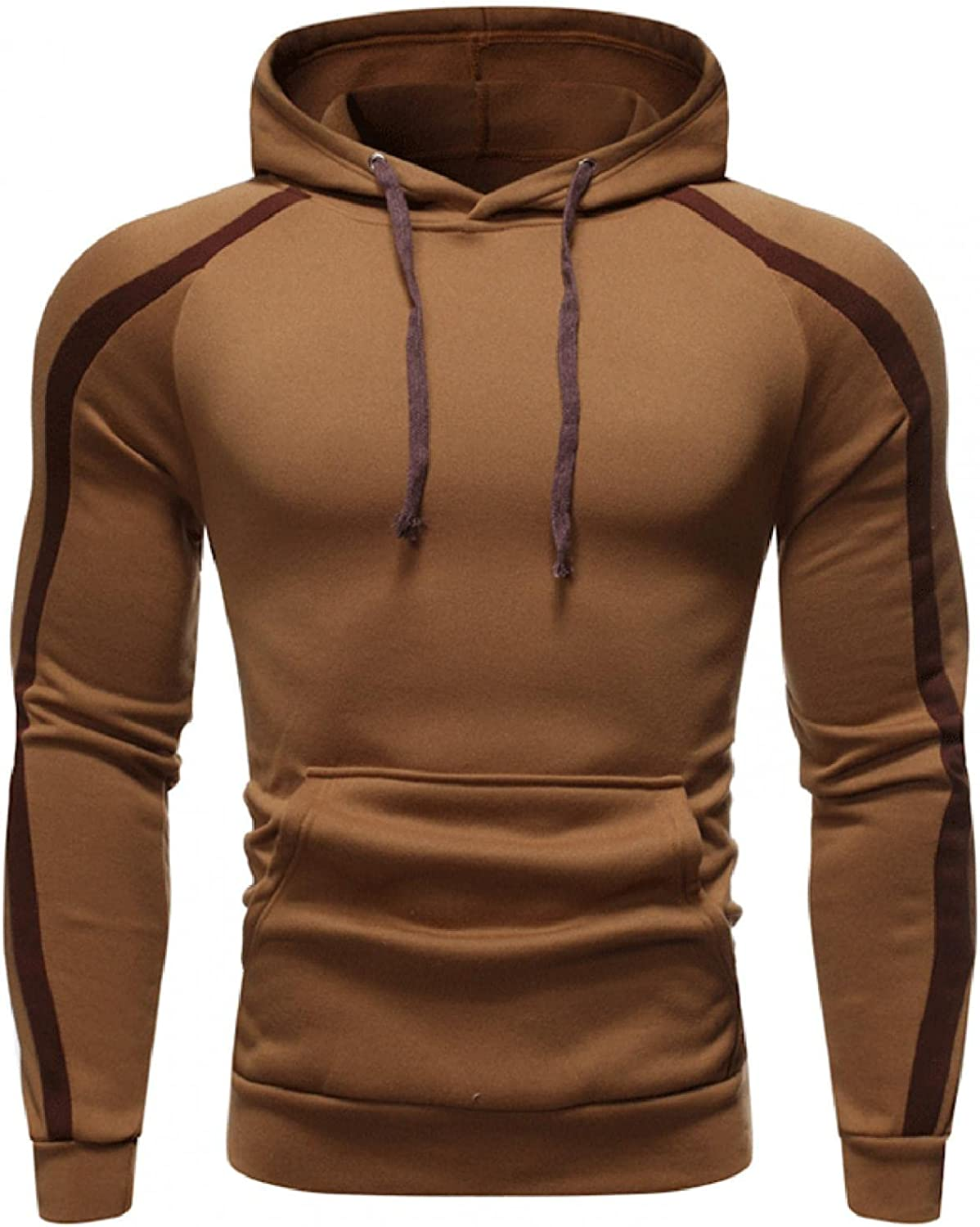 Hoodies for Men Men's Fashion Hoodies Sweatshirts Autumn Winter Casual Long Sleeve Sports Hooded Tight Top Blouse