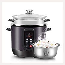 Rice Cooker / stoom (2,5 / 4L) Huishoudelijke non-stick rijstkoker, automatisch warmtebehoud, met spatel en maatbeker, voo...