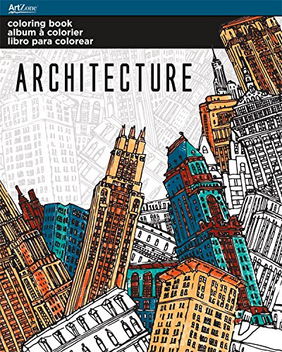 Trends International Architektur Malbuch