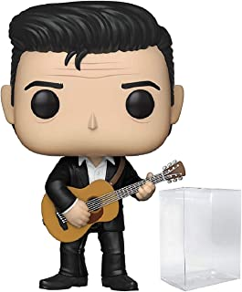 Funko Rocks: Johnny Cash - Johnny Cash Pop! Vinyl Figure (Includes Compatible Pop Box Protector Case)
