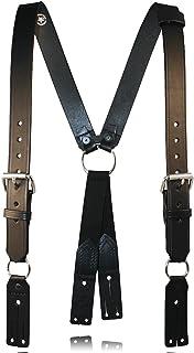 Boston de piel 9175Bombero Suspenders