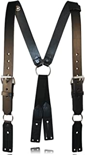 leather fire suspenders
