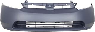 BUMPERS THAT DELIVER - Painted to Match, Front Bumper Cover Fascia for 2006 2007 2008 Honda Civic 1.8L Sedan 06 07 08, HO1000239
