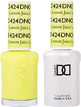 DND Gel & Matching Polish Set #424 - Lemon Juice
