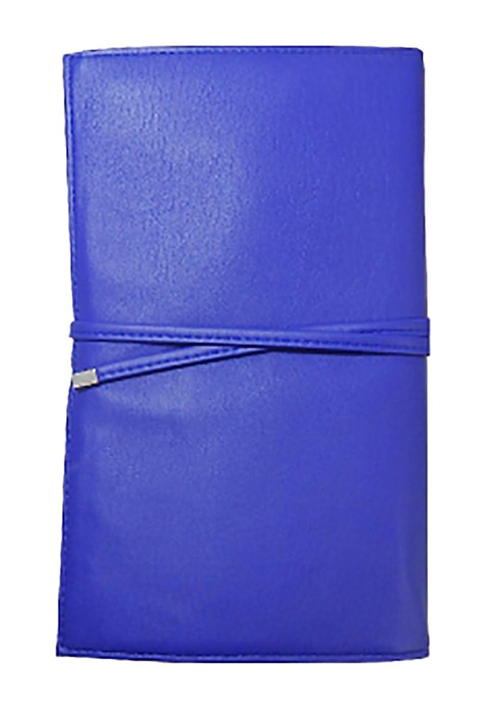 市民おかしい手を差し伸べる20本用ブラシケース ブルー BC1-BL