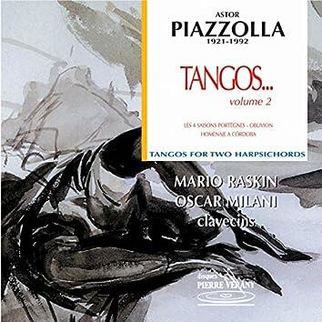 Piazzolla : Tangos pour 2 clavecins, vol. 2