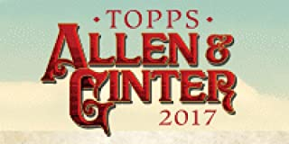 2017 Topps Allen & Ginter Baseball Blaster Box (8 Packs/Box, 6 Cards/Pack)