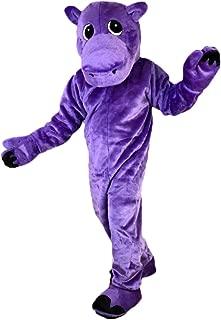 hippo mascot costume