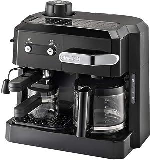 Delonghi BCO320 Combi Espresso Maker Coffee Machine, 220-Volts (Not for USA - European Cord), Black, De'Longhi