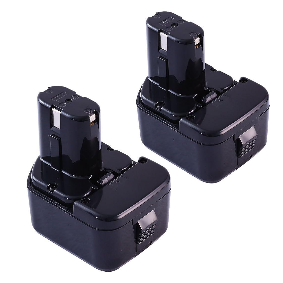 競合他社選手タイプライターナビゲーション日立バッテリー 12V 互換バッテリー 日立工機バッテリー3.0Ah EB1214S EB1214L EB1220BL EB1212Sバッテリー NI-MHニッケル水素2個セット