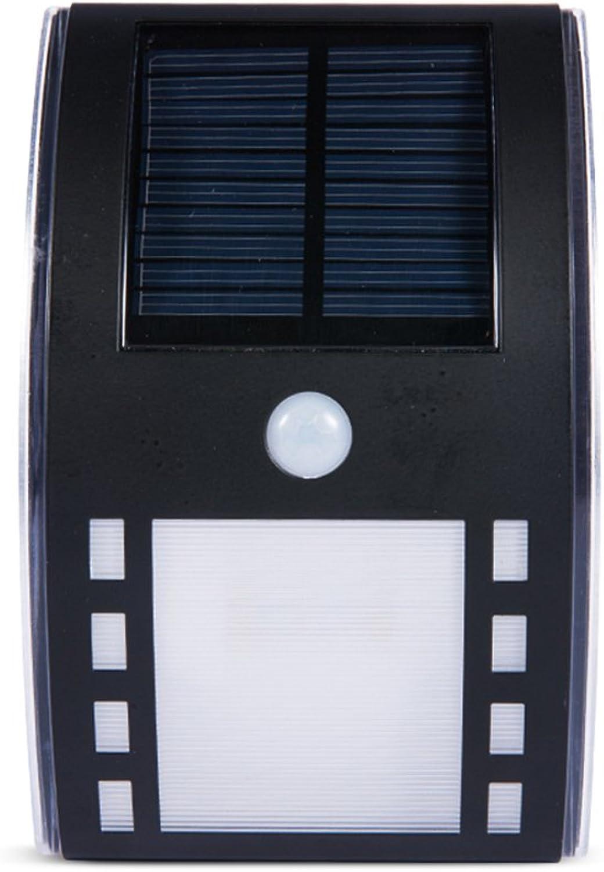 Lonshi IPX4 wasserdicht Solar Outdoor ultra helle Krper Induktion Wandleuchte Hause LED Edelstahl Garten Wand Lampe Straenlaterne