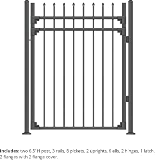 wrought iron front door gates