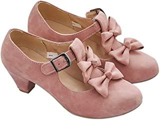 mary jane bowling shoes pink