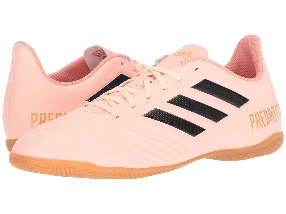 adidas Predator Tango 18.4 IN (Clear Orange/Black/Clear Orange) Men's Soccer Shoes