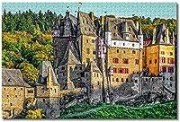 城のパズル-脳の挑戦のための大人の子供のための1000個のジグソーパズル大規模な教育知的ゲーム家の装飾-50cmx75cm