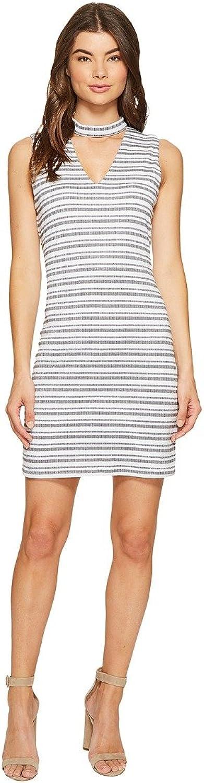 1.STATE Womens Bar Neck Shift Dress