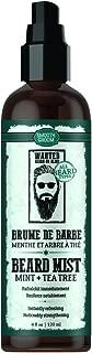Smooth Groom Mint & Tea Tree Beard Mist - Instantly Refreshing + Noticeably Strengthening for Beard Types 4oz / 120ml