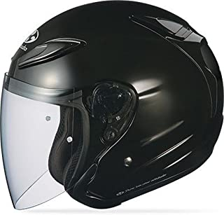 Kabuto Solid Adult Avand II Cruiser Motorcycle Helmet - Metallic Black/X-Large