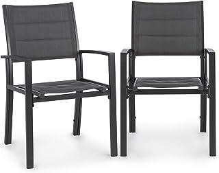 amazon fr chaises de table de jardin