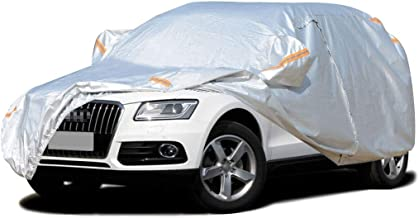 Full Car Cover/Compatible with Audi Q5 / Indoor and Outdoor Car Cover All Weather Four Seasons General Purpose Car Clothing Snow Protection Antifreeze Waterproof Warm Car Shelter