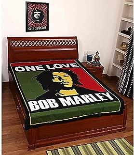 Krati Exports Beautiful Bob Marley Bohemian Wall Hanging Hippie Dorm Decorative One Love Wall Tapestry (85 x 55)