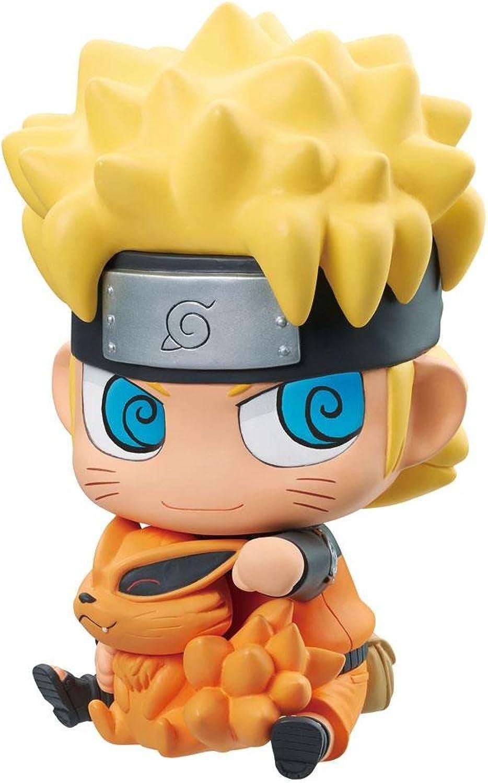 marca en liquidación de venta Naruto Shippuden Vinyl Vinyl Vinyl Mascot Figura Naruto & Kurama 15 cm Megahouse Mini  venta al por mayor barato
