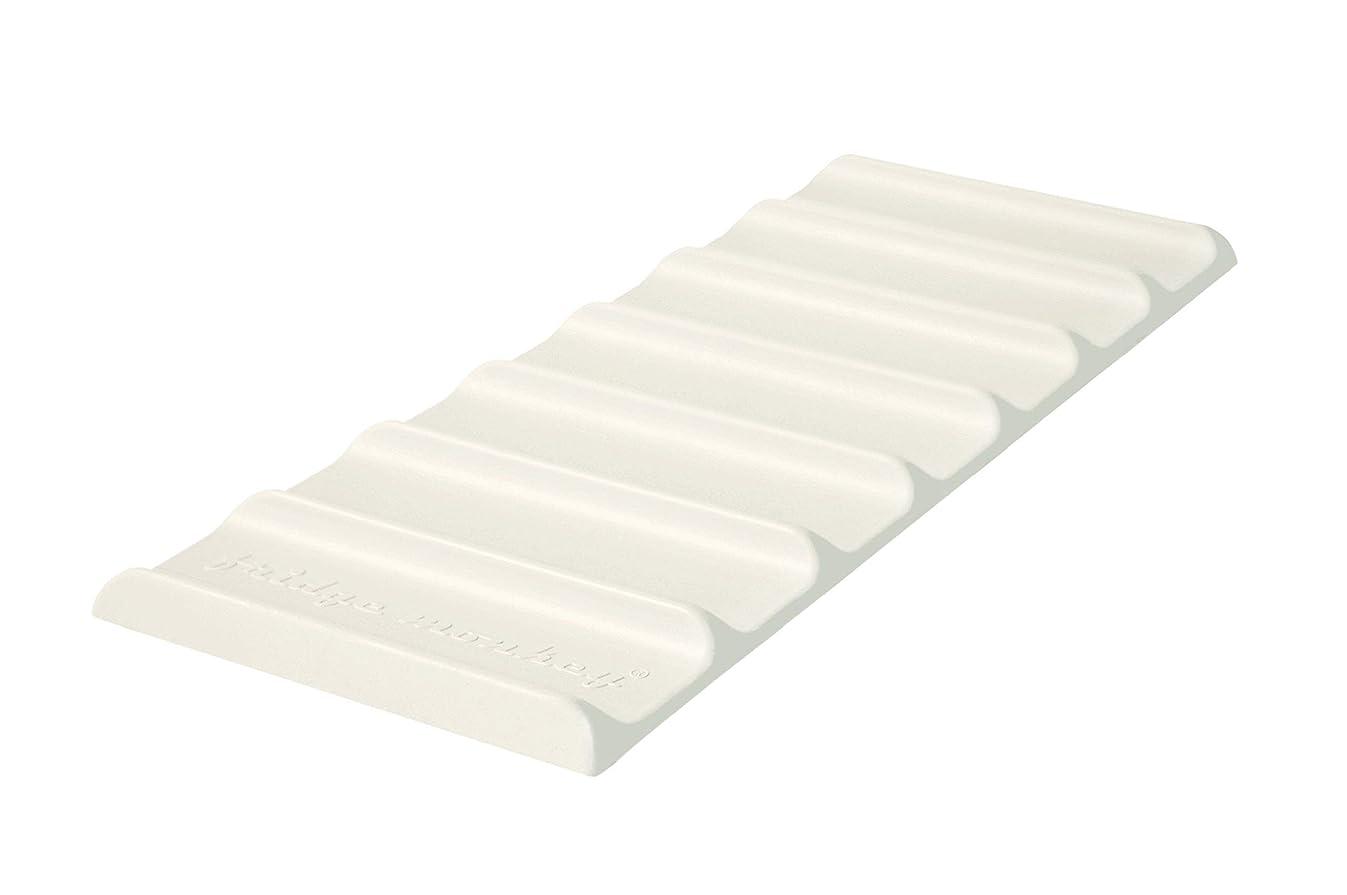 Cooks Innovations Fridge Monkey Mat Refrigerator Organizer - Stacks Cans and Bottles for Easy Storage - Cream