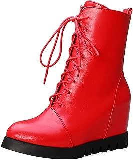 MisaKinsa Women Fashion Wedge Heels Booties