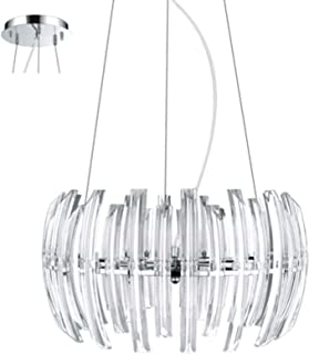 Eglo Hl/9 Chrome Crystal Drifter Pendant Light - 89203