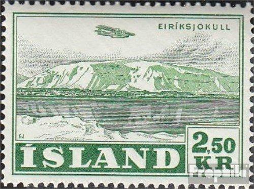 IJsland Mi.-Aantal.: 279 1952 Vliegtuigen (Postzegels voor verzamelaars) luchtvaart