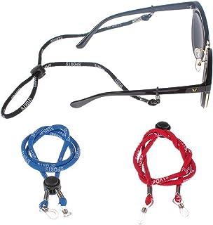 multicolor cuerda de 6 mm cuello y cord/ón para gafas estilo /étnico ten/íbula de la cadena 71 cm 1 Buleerouy gafas de sol Cuerda para gafas