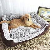 YLCJ Pet Dog Cat Calming Bed Rectangle Cuddler Memory Foam