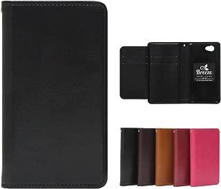 Xperia 1 ケース 手帳型 エクスペリア1 カバー SO-03L SOV40 兼用 Breeze 正規品 [SO03L6000UZ]