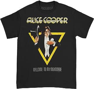 Alice Cooper Men's Welcome to My Nightmare T-Shirt Black