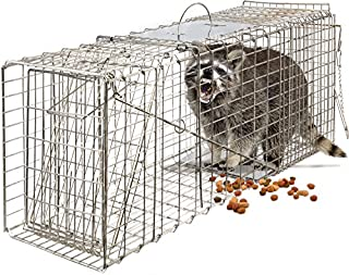 OxGord Live Animal Trap - Humane Catch & Release Large 32