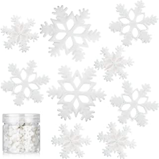 Wintry Mix ~ Sprinkletz Shaker Cards /& Crafts Snowman /& Snowflakes Pieces